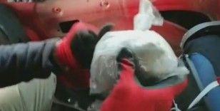 Şanlıurfa'da şüphe üzerine durdurulan araçtan uyuşturucu çıktı