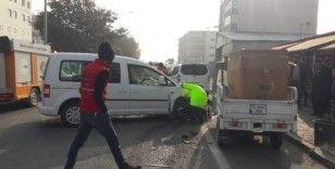 Iğdır'da Zincirleme Trafik Kazası