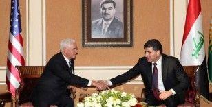 Pence Irak'ta Neçirvan Barzani ile görüştü
