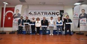 4. Uluslararası Mersin Satranç Turnuvası sona erdi
