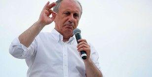 Muharrem İnce, 'Kanıtlasınlar kendimi Taksim'de yakarım'