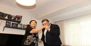 Başkan Bozkurt'tan ilkokul öğretmenine sürpriz ziyaret