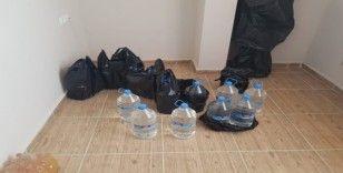 Adana'da 128 litre kaçak içki ele geçirildi