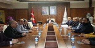 Nevşehir'de İl Spor Güvenlik kurul toplantısı yapıldı