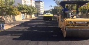 Yeşilyurt Mahallesi'nde asfalt çalışması