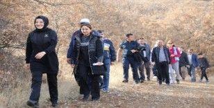 Akyurt'ta Öğretmenlere Saygı Trekking Yürüyüşü