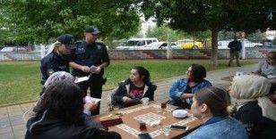 Ortaca'da polislerden KADES bilgilendirmesi