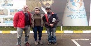 Batı Karadeniz'in ilk tırmanma duvarı Zonguldak'a yapılıyor