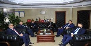 Uluslararası Üniversiteler Konseyinden Rektör Şevli'ye ziyaret