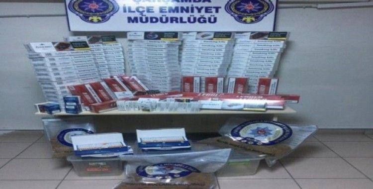 Çarşamba'da 'kaçak sigara' operasyonu: 1 gözaltı