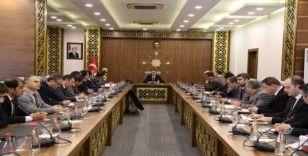 Cizre'de yatırım takip ve koordinasyon toplantısı yapıldı