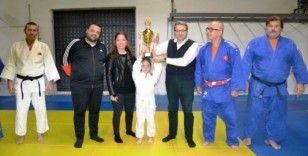 Şampiyon judoculara tebrik ziyareti