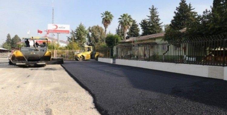 Yüreğir Belediyesi asfalt çalışmalarını sürdürüyor