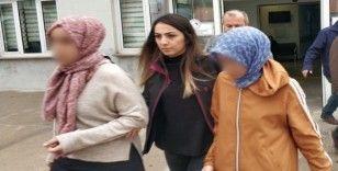 FETÖ'nün örgüt evlerinde yakalanan 2 kadına adli kontrol