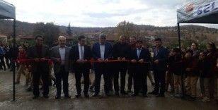 Rahmanlar Ortaokulu'nda 'TÜBİTAK Bilim Fuarı' sergisi açıldı