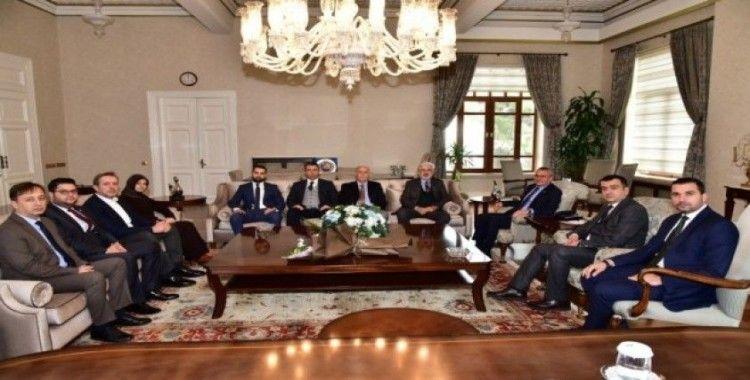AK Parti İl Başkanı Hızlı'dan Vali Deniz'e ziyaret