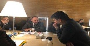 İsmail Emrah Karayel, AP üyeleri ile görüştü