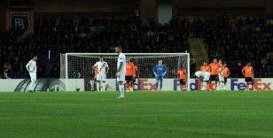 Başakşehir, Avrupa'da 3 maç sonra yenildi