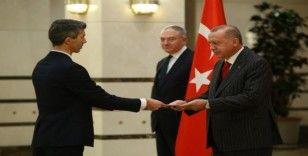 Cumhurbaşkanı Erdoğan, Kosova Büyükelçisini kabul etti