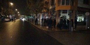 Düzce'de doğalgaz kaçağı bina sakinlerini sokağa döktü