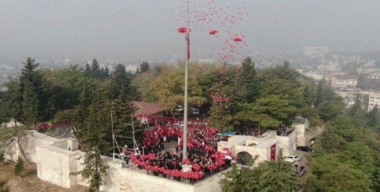 """Kahramanmaraş'ta """"Bayrak Olayı""""nın 100. yılı kutlandı"""