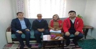 Müdür Yavaş'tan Kıbrıs Gazisine ziyaret