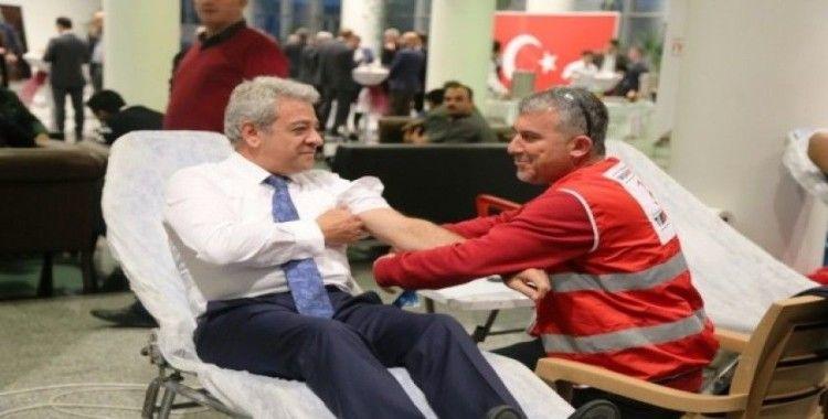 KMTSO'dan kan bağışı