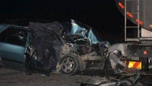 Alkollü sürücü faciaya neden oldu