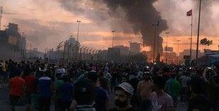 Irak'ta olaylı protesto: 20 ölü