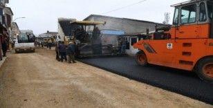 Muş Belediyesinden yağışlar öncesi asfalt seferberliği