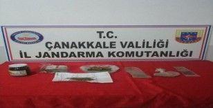 Çanakkale'de uyuşturucu operasyonu: 3 gözaltı