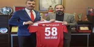 Başsavcı'dan Sivasspor'a tebrik ve destek