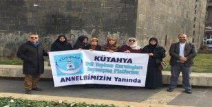 Kütahya'dan 'Diyarbakır anneleri'ne destek