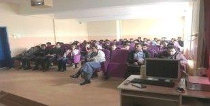 Hisarcık'ta idareci, öğretmen, öğrenci ve personele diyabet eğitimi