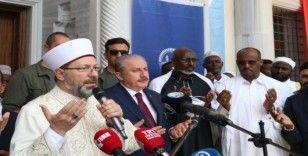 TBMM Başkanı Şentop, Cibuti'de 2. Abdülhamid Han Camisi'ni açtı