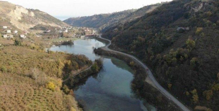 Sera Gölü balçık temizlik çalışmalarının tamamlanmasının ardından eski görüntüsüne kavuştu