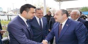 Sanayi ve Teknoloji Bakanı Mustafa Varank Çorlu'da