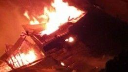 Çaykara ilçesindeki yangın kontrol altına alınarak söndürüldü