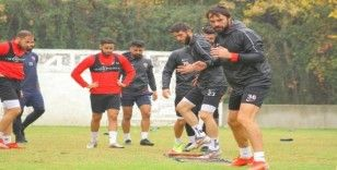 Hatayspor, Balıkesir maçının Hatay'daki hazırlıklarını tamamladı