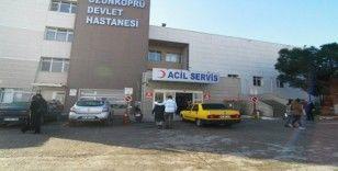 Edirne'de özel harekat polisleri kaza yaptı: 18 yaralı