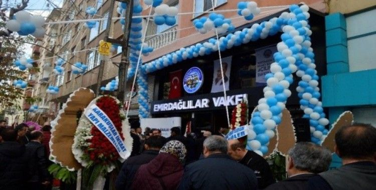 Emirdağlılar Vakfı'nın yeni hizmet binası görkemli törenle açıldı