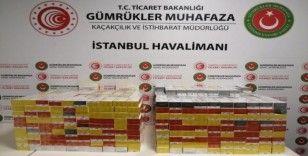 İstanbul Havalimanı'nda elektronik sigara operasyonu