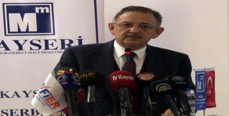 """AK Parti Genel Başkan Yardımcısı Özhaseki: """"Bu topraklarda ayakta kalmanın tek yolu güçlü kalmak"""""""
