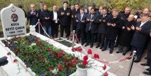 Çanakkale kahramanı Seyit Onbaşı mezarı başında anıldı