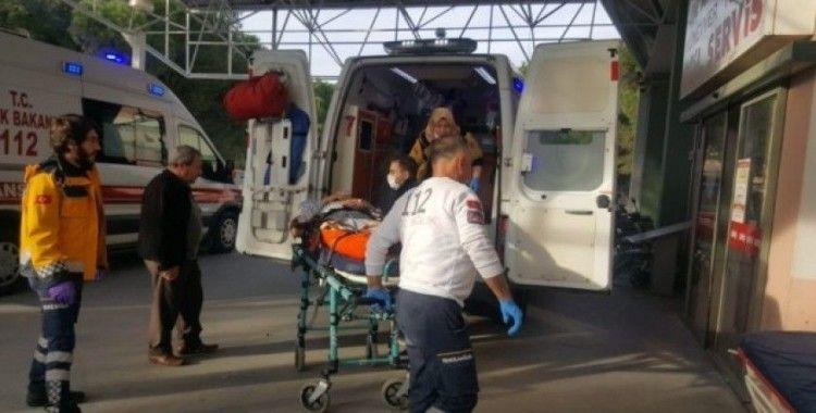 Hastaneye gitmeyen yaşlı çiftin zehirlendikleri ortaya çıktı