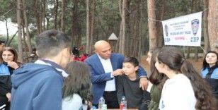Şahne, çocuklarla piknikte buluştu