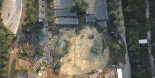 Çin'de metro inşaatında yol çöktü: 3 kişi kayıp