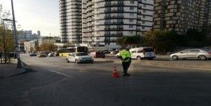Esenyurt'ta minibüs sürücülerine şok uygulama