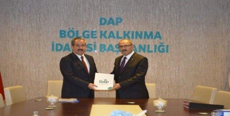 DAP'tan Adilcevaz Belediyesinin projesine destek