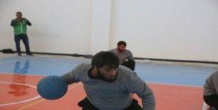 Azez'de görme engelliler için futbol turnuvası